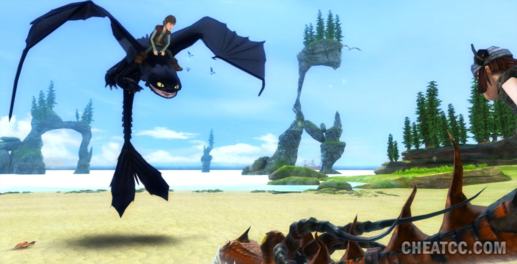 how to train your dragon wii u review